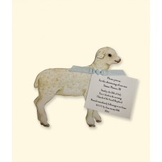 Mini Lamb die cut, large
