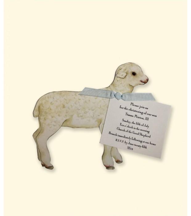 Mini Lamb die cut, small