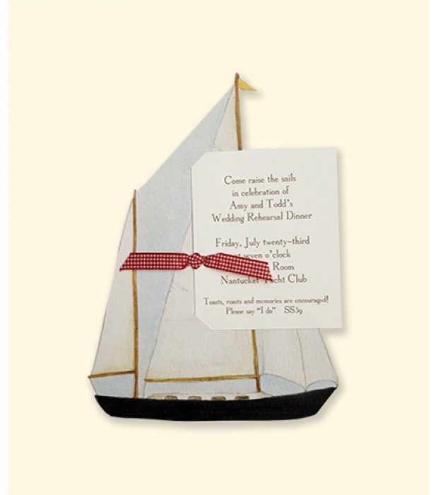 Nautical Sail Boat