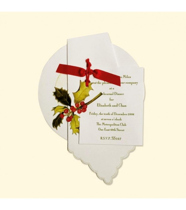 Holiday Napkin Plate