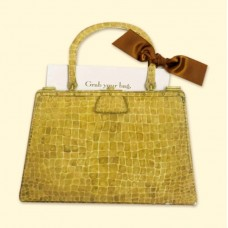Crocodile Bag Card