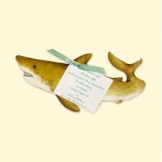Shark Invitation Card
