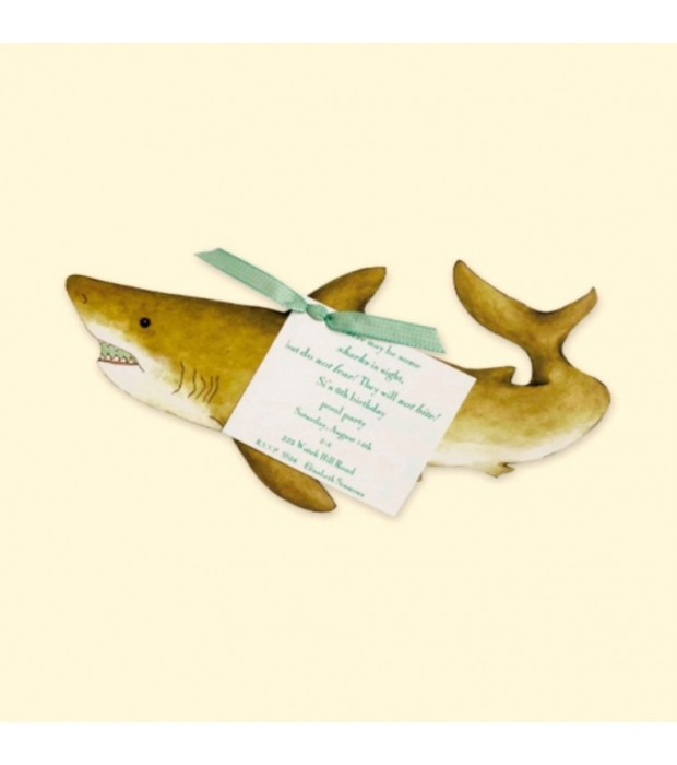 Shark Invitation Card