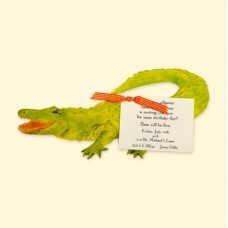 Alligator Invitation Card