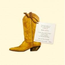 Cowboy Boot card