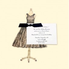 Black Dress invitation