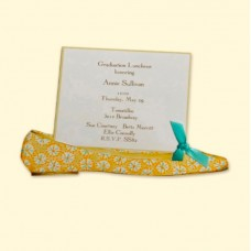 Blue Flat Invitation Card