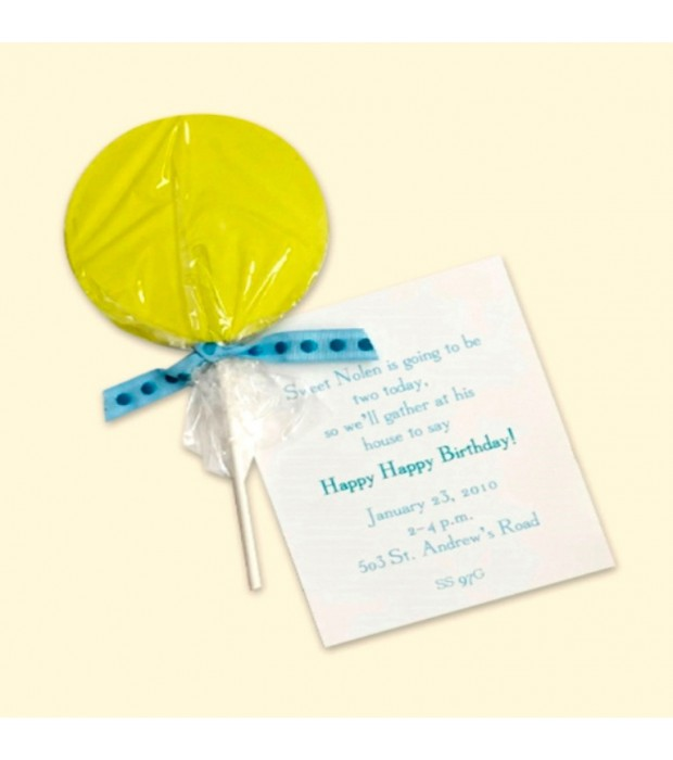 Lollipop Green Card