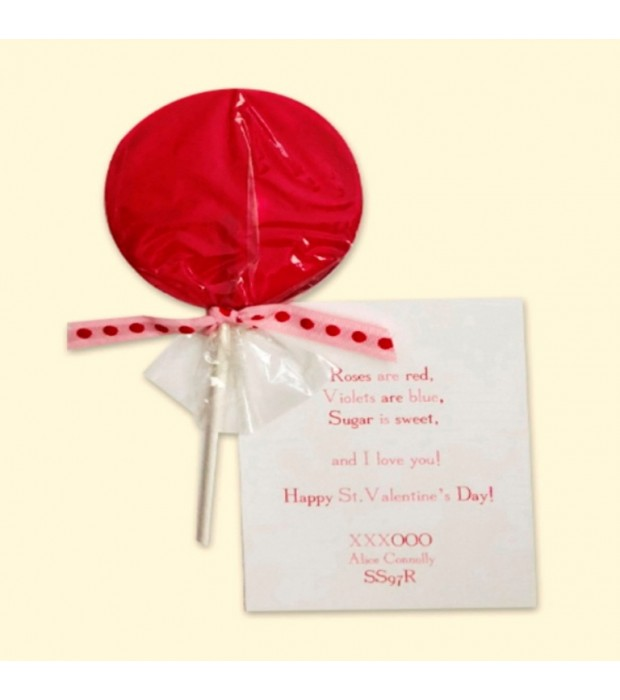 Lollipop Red Card